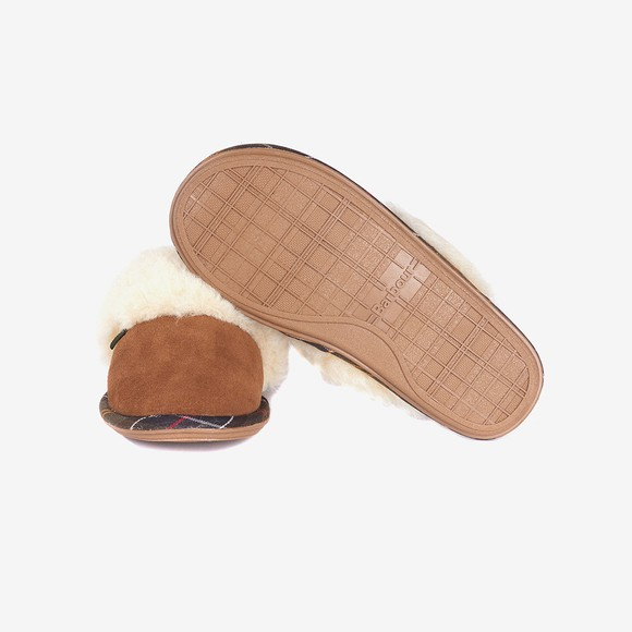 Barbour Lifestyle Womens Brown Lydia Mule Slipper main image