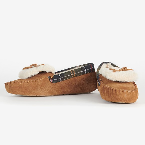 Barbour Lifestyle Womens Brown Darcie Slipper main image
