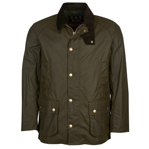 Barbour Lifestyle Mens Green Bodey Wax Jacket