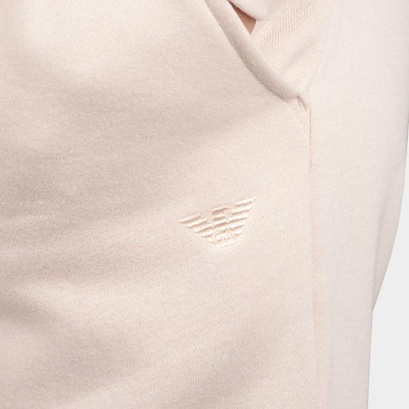 Emporio Armani Womens Pink Small Logo Jogger main image
