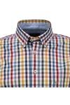 Fynch Hatton Mens Multicoloured Winter Basics Shirt