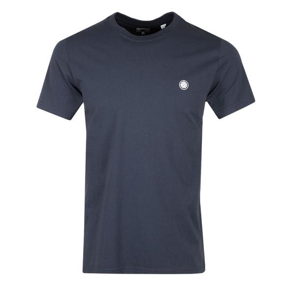 Pretty Green Mens Blue Mitchell T-Shirt main image