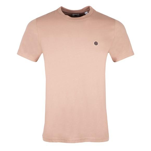 Pretty Green Mens Pink Mitchell T-Shirt main image