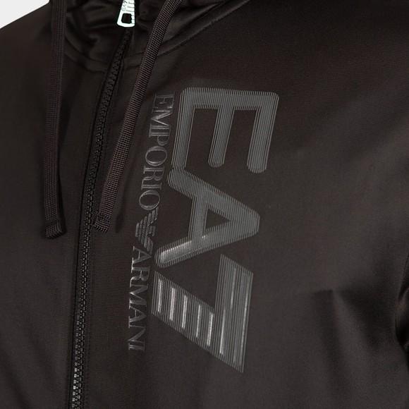 EA7 Emporio Armani Mens Black Logo Tracksuit main image