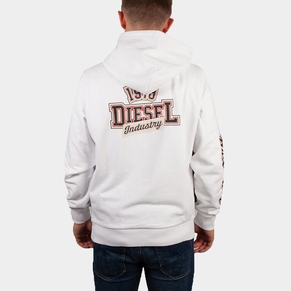 Diesel Mens White Girk 78 Hoody main image