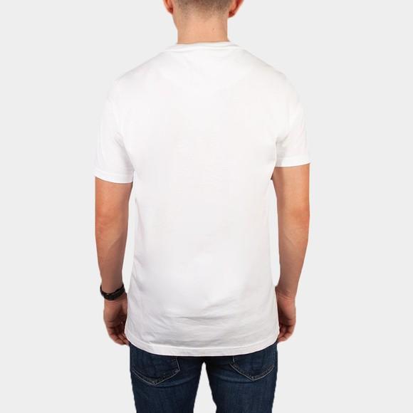Pretty Green Mens White Mitchell T-Shirt main image