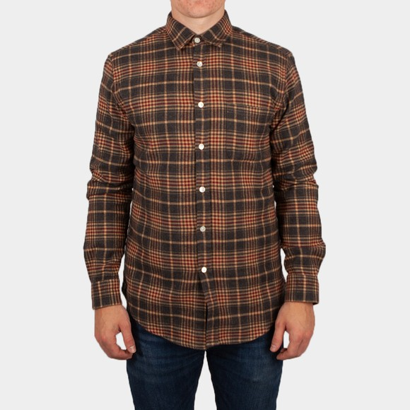 Portuguese Flannel Mens Beige Dogma Shirt