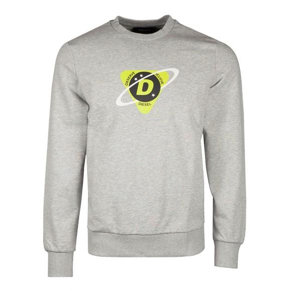 Diesel Mens Grey Girk K23 Sweatshirt