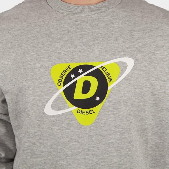 Diesel Mens Grey Girk K23 Sweatshirt main image