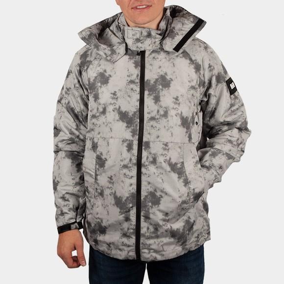 Weekend Offender Mens Grey Adesanya Jacket