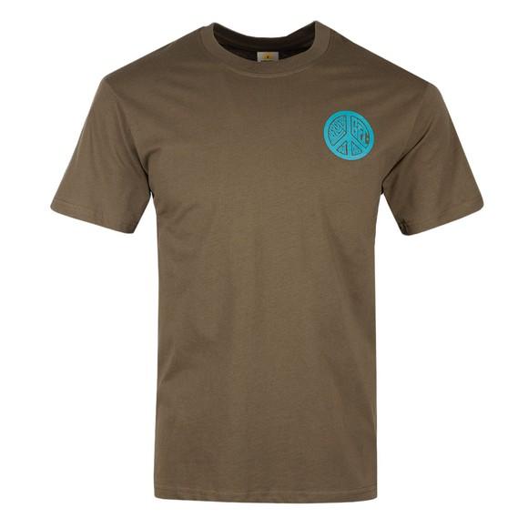 Hikerdelic Mens Green Peace T-Shirt main image
