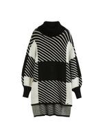 Zzaarah Long Jacquard Sweater