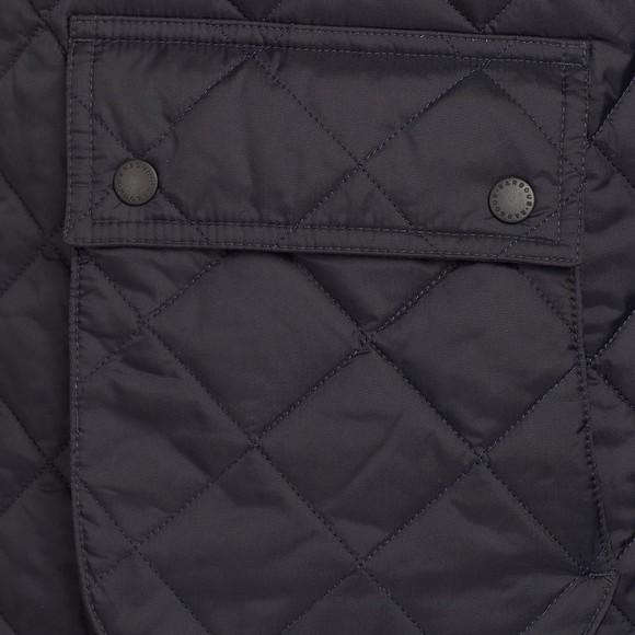 Barbour Lifestyle Mens Blue Dom Quilt Jacket main image