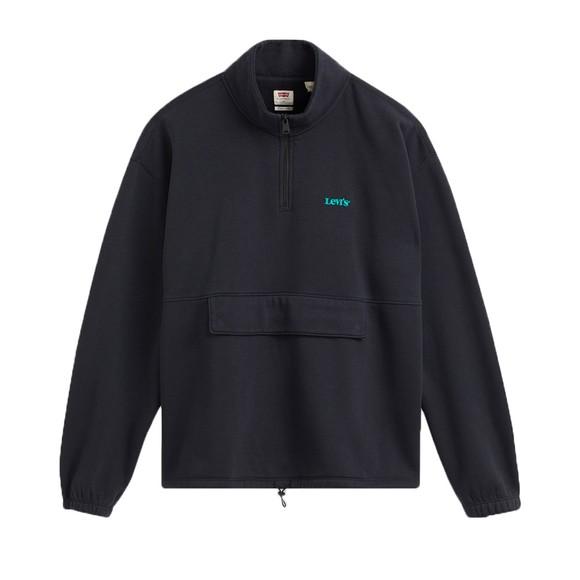 Levi's ® Mens Blue 1/4 Zip Sweatshirt