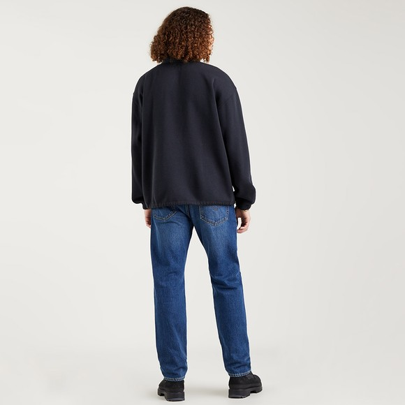 Levi's ® Mens Blue 1/4 Zip Sweatshirt main image