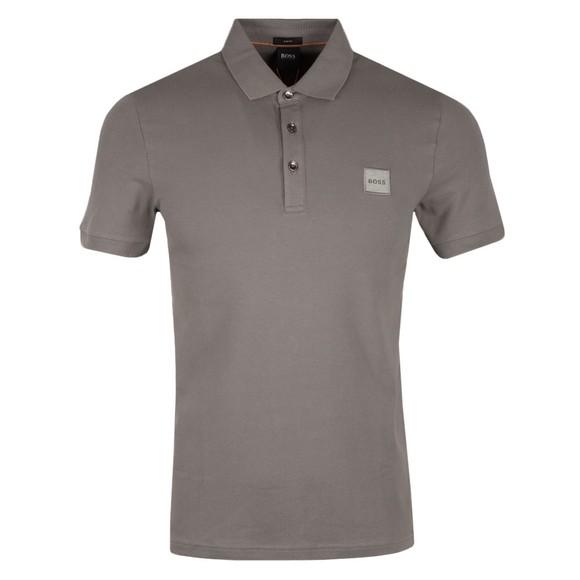 BOSS Mens Grey Casual Passenger 1 Polo Shirt