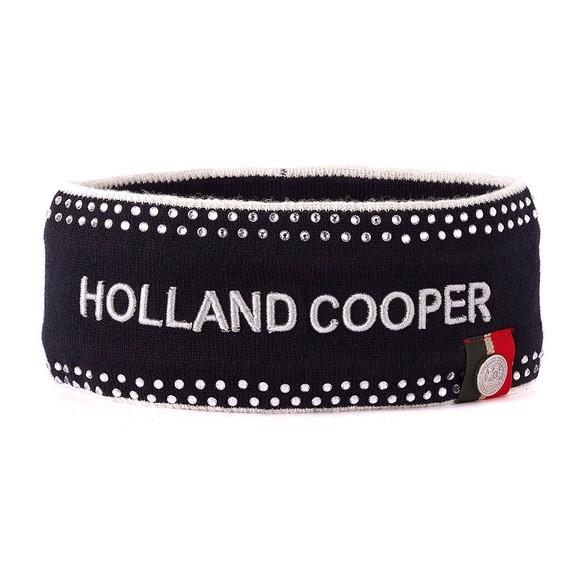 Holland Cooper Womens Blue Luxe Crystal Headband
