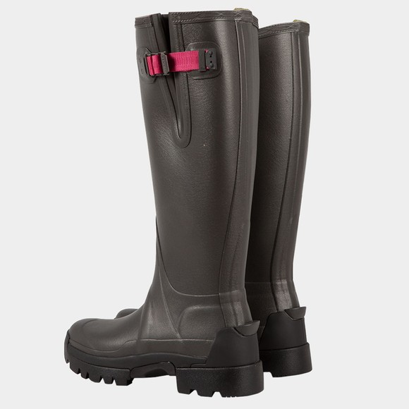 Hunter Womens Grey Balmoral 3MM Neoprene Side Adjustable Boot main image