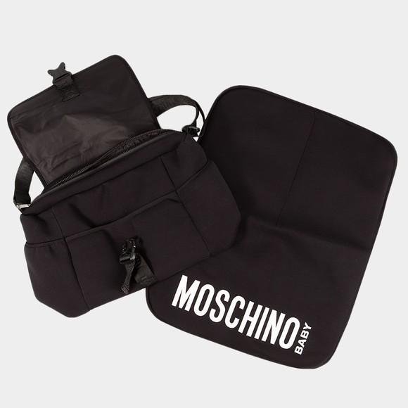 Moschino Boys Black Logo Changing Bag main image