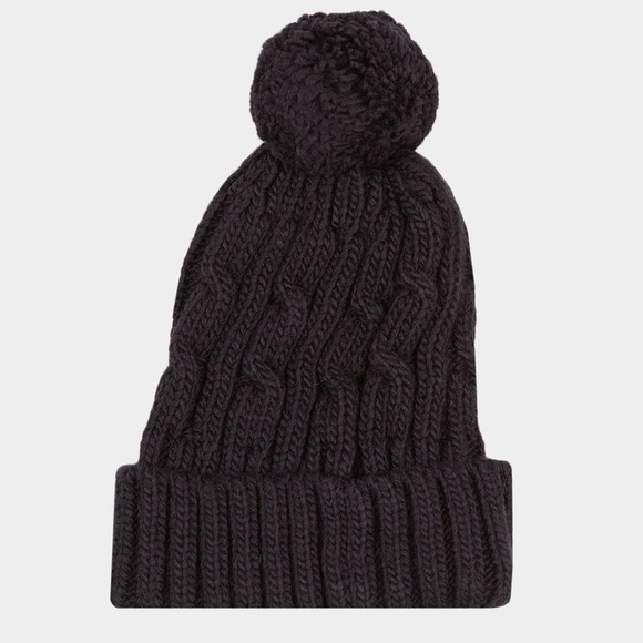 Superdry Mens Blue Trawler Cable Beanie