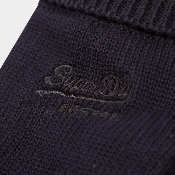 Superdry Mens Blue Logo Classic Glove