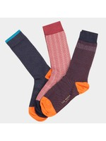 Three Pack Socks