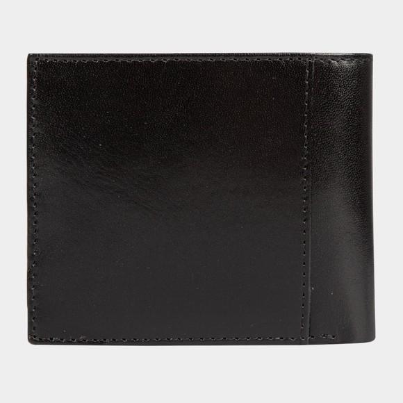 Ted Baker Mens Black Korning Metal Corner Black Wallet main image