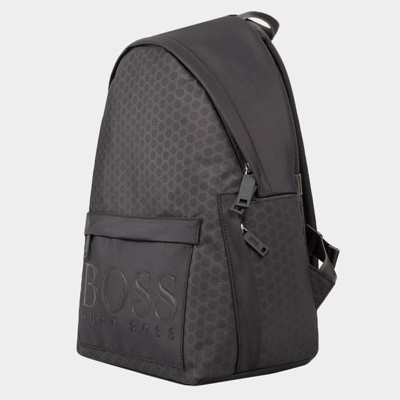 BOSS Mens Black Hegon Backpack