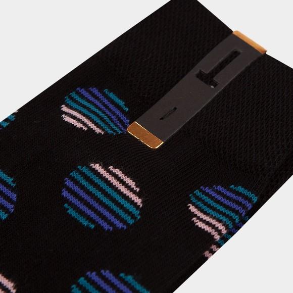 Ted Baker Mens Black Multi Spot Sock