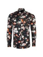 L/S Blurred Floral Shirt