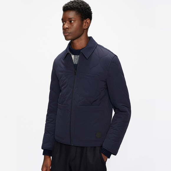 Ted Baker Mens Blue Reversible Quilted Jackets