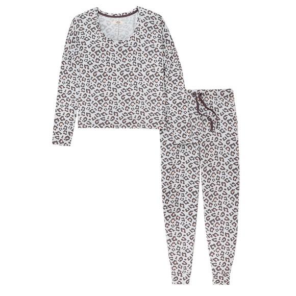 Ugg Womens Grey Birgit Pyjama Set