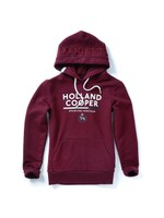 Tri Colour Crest Hoody