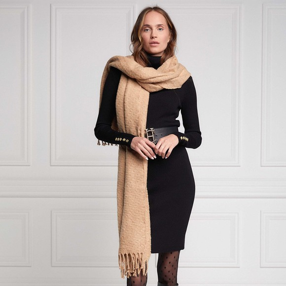 Holland Cooper Womens Brown Scarf