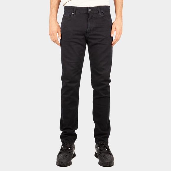 BOSS Mens Black Maine 3 Jean