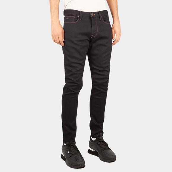 Emporio Armani Mens Blue J06 Slim Jean