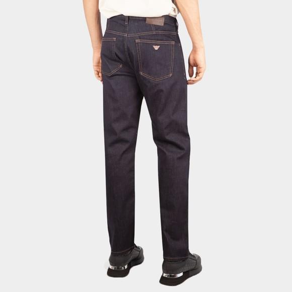 Emporio Armani Mens Blue J21 Regular Fit Jean main image