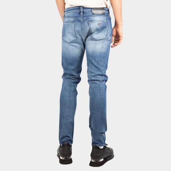 Emporio Armani Mens Blue J75 Slim Fit Jean main image
