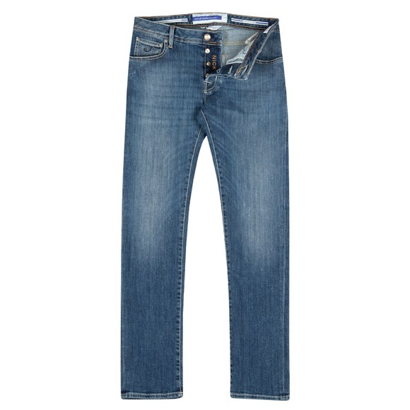 Jacob Cohen Mens Blue Nick Comfort Slim Jean