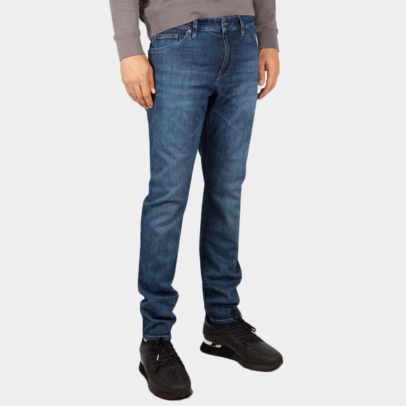 BOSS Mens Blue Maine 3 Jean