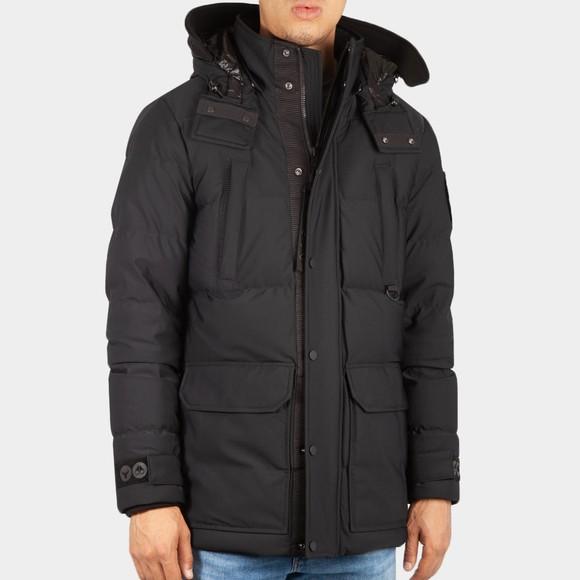 Moose Knuckles Mens Black Valleyfield Jacket