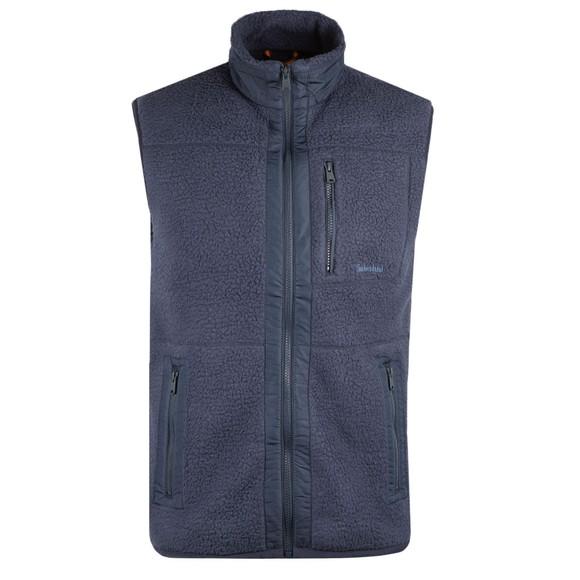 Timberland Mens Blue Fleece Gilet