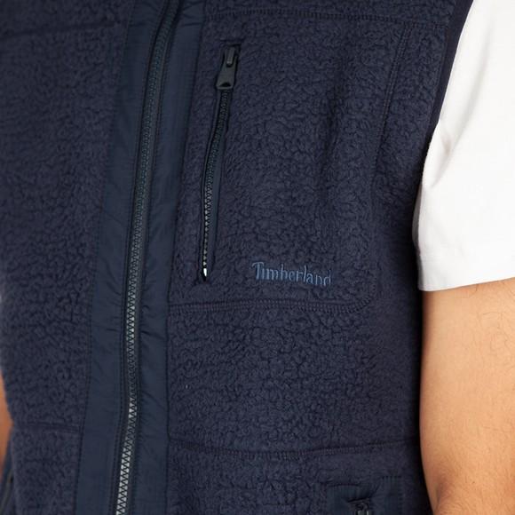 Timberland Mens Blue Fleece Gilet main image