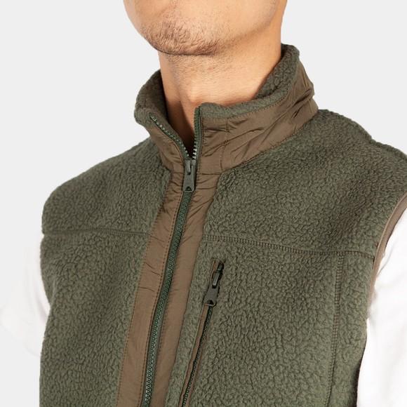 Timberland Mens Green Fleece Gilet main image