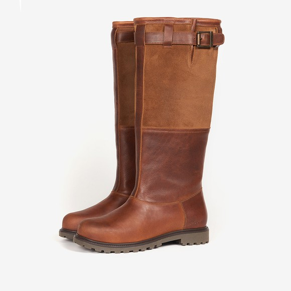 Barbour Lifestyle Womens Brown Acorn Boot
