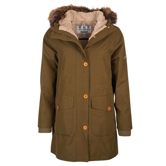 Barbour Lifestyle Womens Green Foxton Jacket