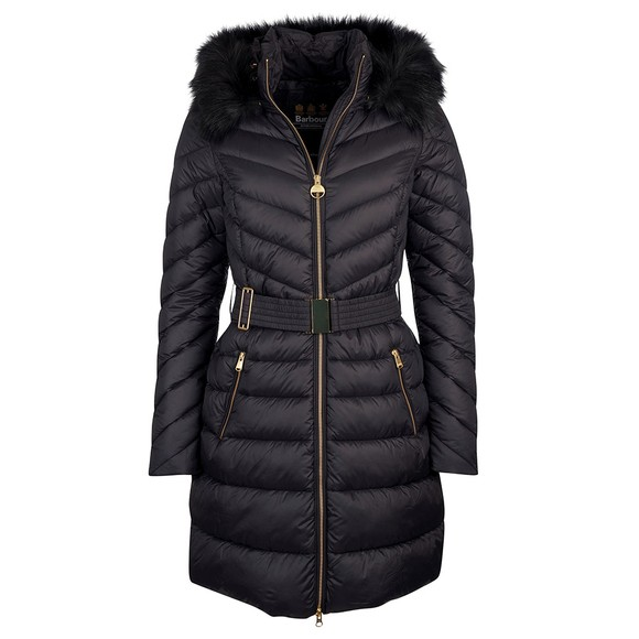 Barbour Lifestyle Womens Black Darley Moore Quilted Jacket