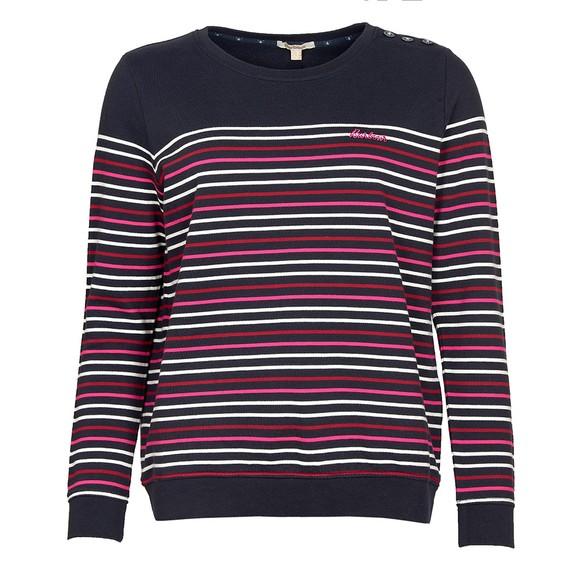 Barbour Lifestyle Womens Blue Ramble Sweatshirt