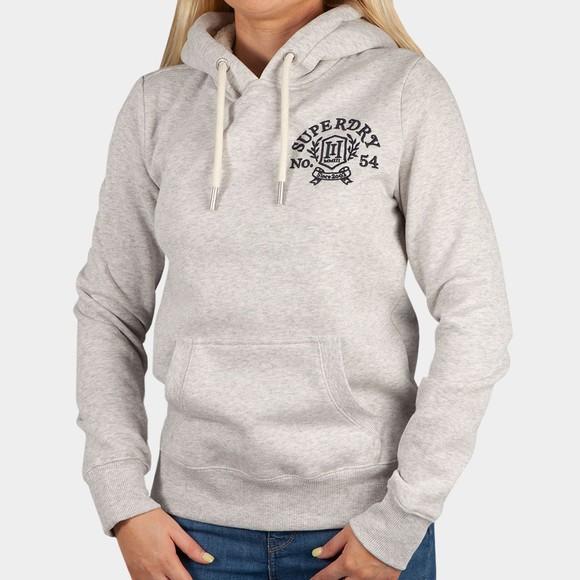 Superdry Womens Grey Pride In Craft Hoody