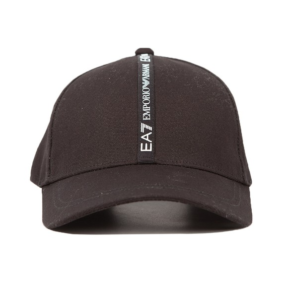 EA7 Emporio Armani Mens Black Refined Mix Cap main image